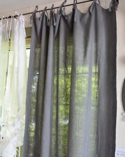 rideau gris fonc gallery of rideau voilage gris clair. Black Bedroom Furniture Sets. Home Design Ideas