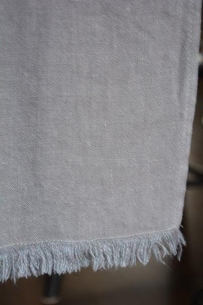 Grey bilbao table runner boutique aux mirabelles - Chemin de table colore ...