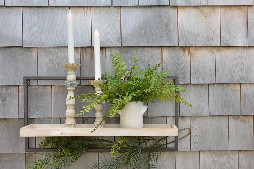 Double attrait: lumière et verdure