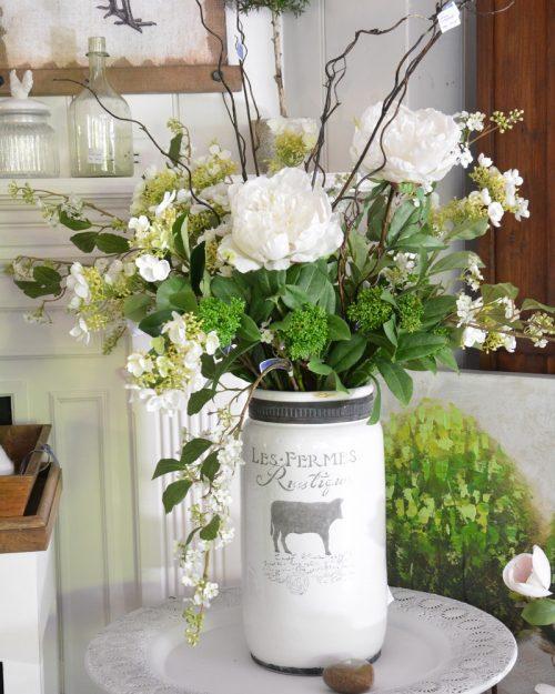 Fleurs, fruits, légumes, vases et accessoires