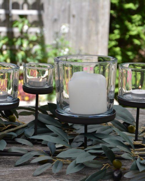 Lanternes, bougeoirs et photophores