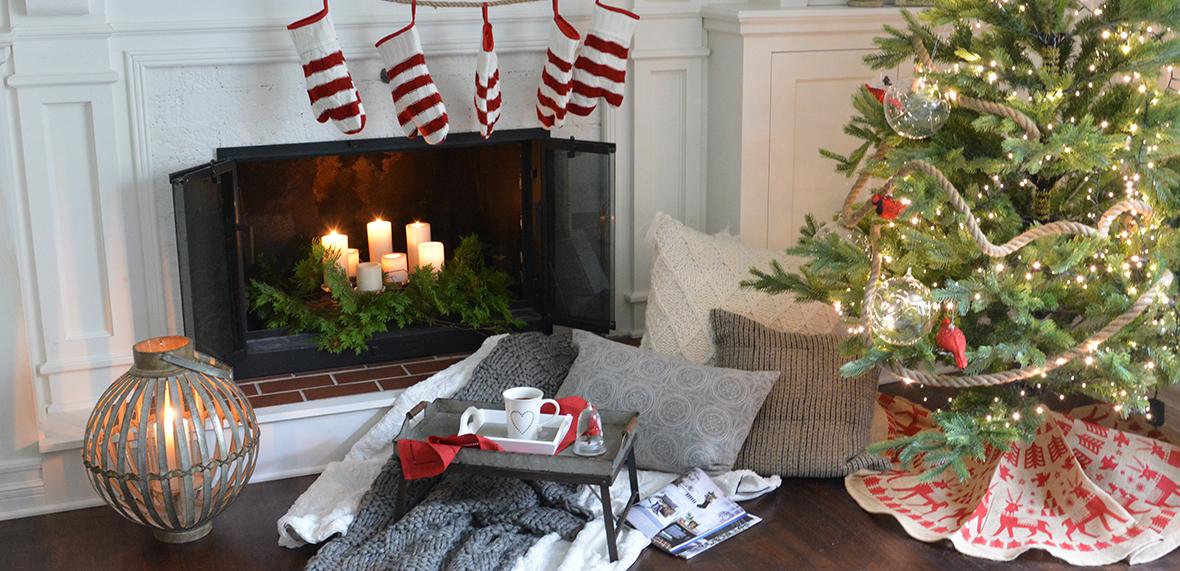 Bas de Noël - Décorations de Noël en ligne - Boutique Aux Mirabelles - 02